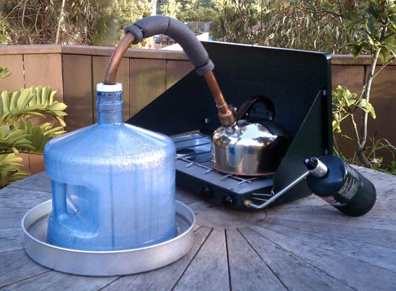 Diy Water Distiller ~ The best diy bushcraft water filters for survival in